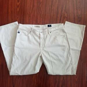 Mens AG Graduate Tailored Pants Jean Light Tan